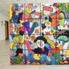 Künstler Otmar Alt übergibt Kunstwerk an Krankenhaus Düren